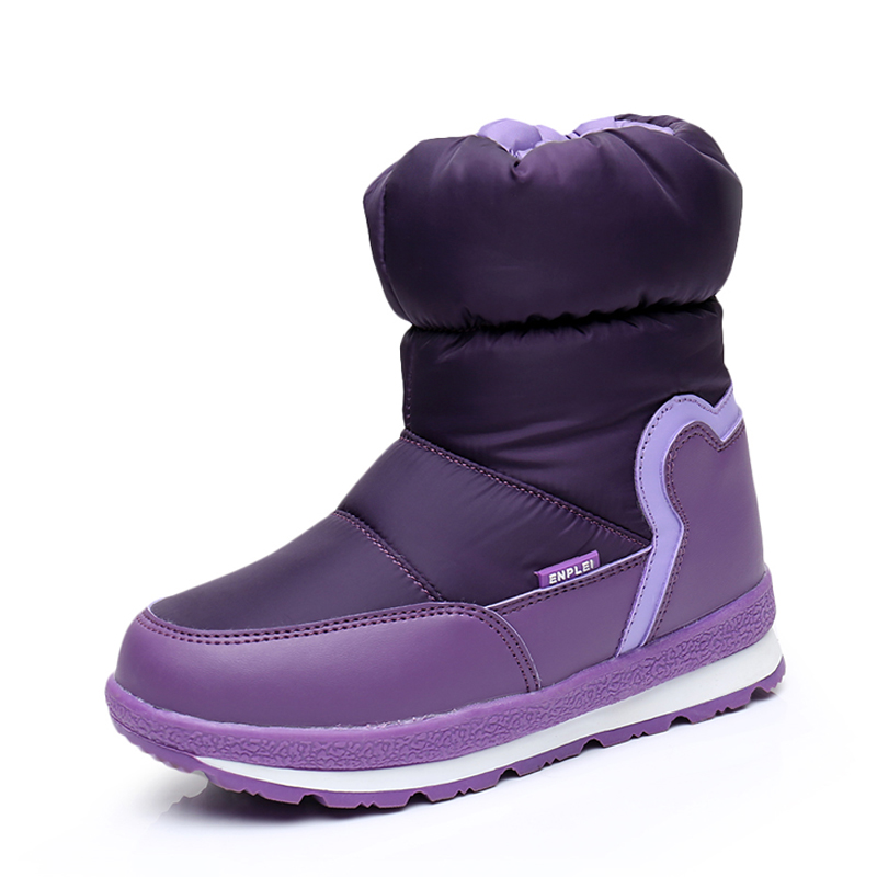 2018 Winter Platform Girls Boots Children Rubber Anti-slip 30% Wool Snow Boots Shoes For Girl Kids Waterproof Warm Winter Shoes winter children s boots fashion ankle belt rubber bottom equal anti slip boy girls snow boots warm round head snow boots
