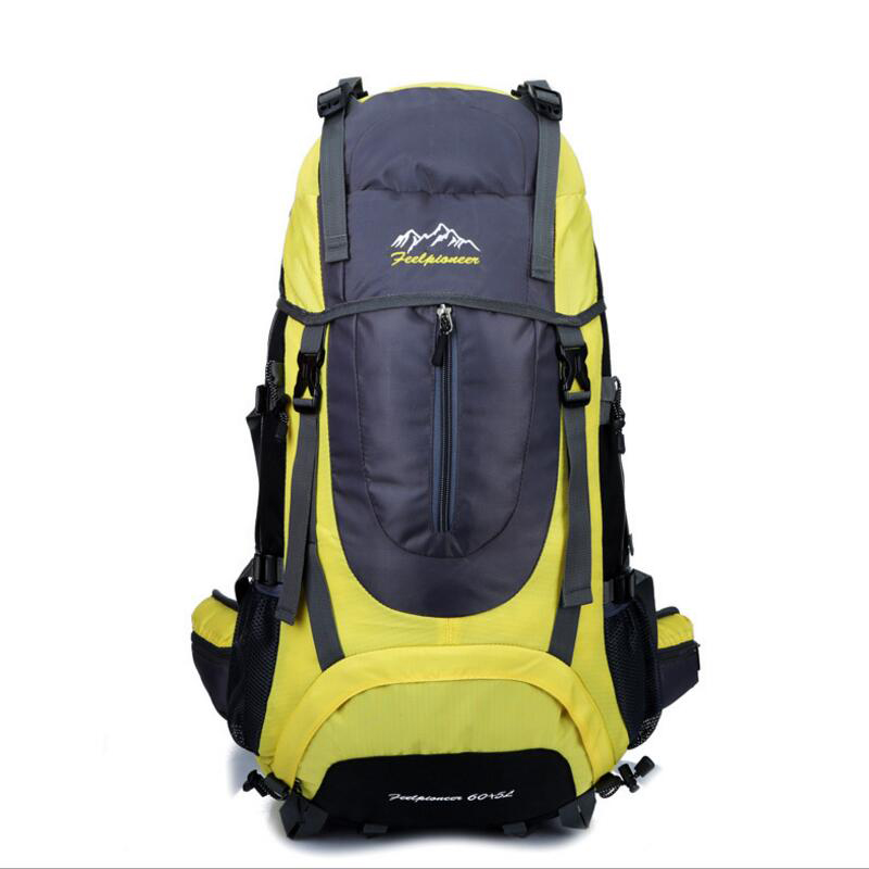 65L Large Capacity Outdoor Professional Mountaineering Bag Outdoor Sports Bag Hiking Backpack Multifunction Single Backpack newdawn nd818a large capacity photography bag professional dslr camera backpack