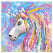 5D DIY Diamond Painting 100% Full Round Diamant Daimond Accessories Embroidery Unicorn Mosaic Paintings