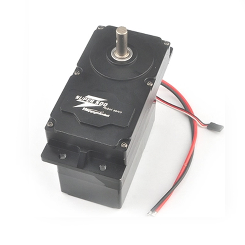 JMT SUPER500 500KG.CM High Torque Metal Servo 12V-24V DC Input Support PWM Servo BEC 5V For DIY Large Robot ArmsJMT SUPER500 500KG.CM High Torque Metal Servo 12V-24V DC Input Support PWM Servo BEC 5V For DIY Large Robot Arms