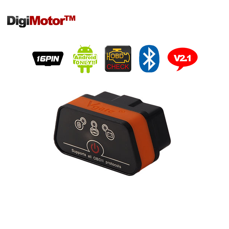 Vgate iCar2 ELM327 V 2.1 OBD2 Bluetooth Adapter OBD 2 ELM327-Bluetooth Car Diagnostic Tool Scanner ELM 327 V2.1 Diagnostic Tools launch x431 obdii diagnostic tool elm327 1 5 obd easydiag 2 0 plus bluetooth adapter aumotive scanner