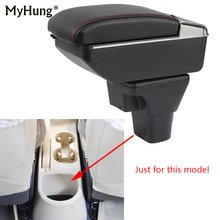 For Hyundai Accent Armrest box Central Console Arm Store content box cup holder ashtray With Rise and Down Function Car Styling armrest box for skoda octavia a5 yeti 2007 2014 central console arm store content box cup holder ashtray interior car styling