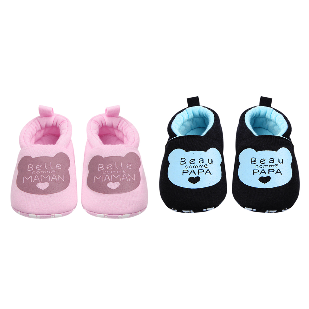 Newborn Baby Infant Shoes Winter Soft Cotton Baby First Walker Baby Shoes Boy Toddler Keep Warm Thick Shoes
