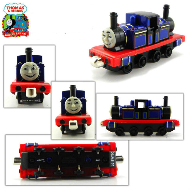 Diecast Metal Train Mighty Mac Megnetic Trains Toy The Tank Engine Trackmaster Toy For Children Kids Gift Thomas And Friends