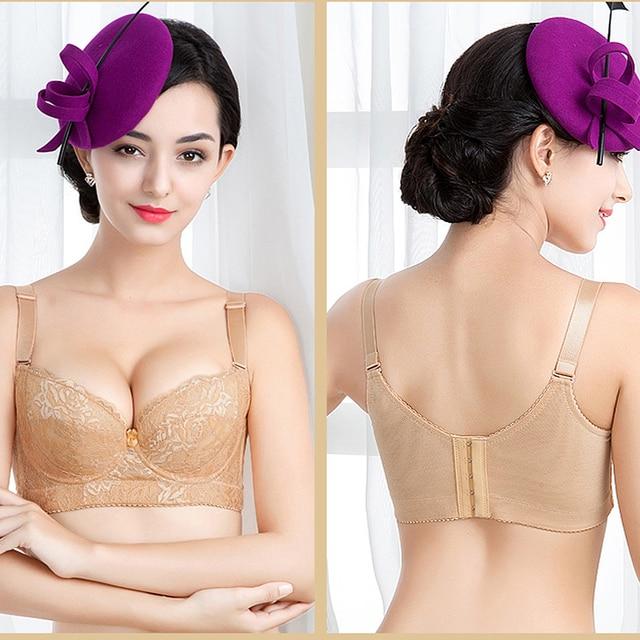 Bh&g Home Designer Part - 34: 2018 New BH Luxury Brand Bra Women Everyday Embroidery Lace Bralette Push  Up Sexy Bras Plus