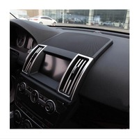 ABS Chrome Trim L R AND Middle Air Conditioning Outlet Decoration 2pcs Lot Car Accessories For