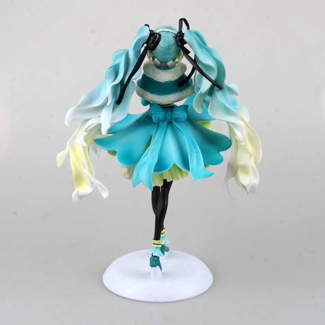 25cm big size Hatsune Miku Anime Collectible Action Figure PVC toys for christmas gift with retail box