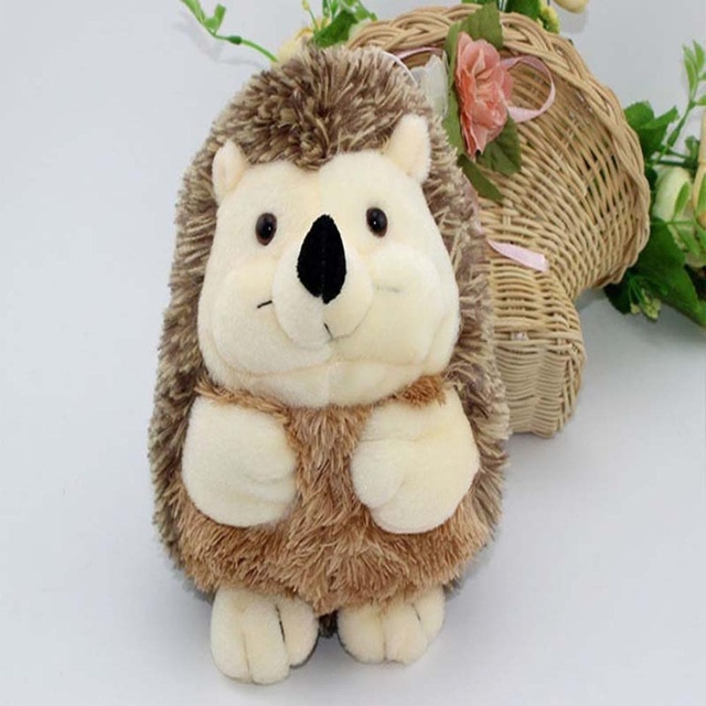 1 Pcs Cute Children Child Animal Soft Stuffed Plush Hedgehog Toy