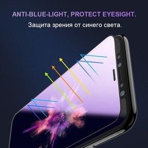 Image 5 - 0.23mm 3D מעוקל מזג זכוכית עבור iPhone X RONICAN רך קצה בחדות גבוהה אנטי כחול אור מסך מגן עבור iPhone XS