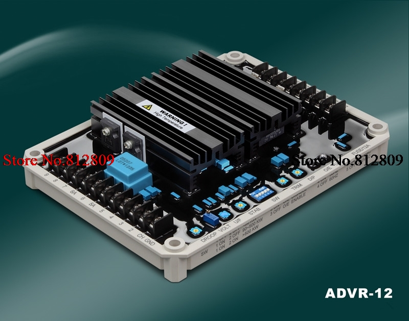 ORINGALLY ADVR-12 Single/Three Phase Sensing and Single/Three Phase Power Input 12 Amp AVR free shippingORINGALLY ADVR-12 Single/Three Phase Sensing and Single/Three Phase Power Input 12 Amp AVR free shipping