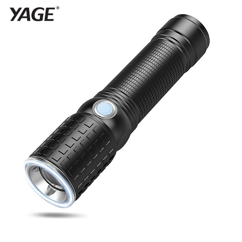 YAGE Portable Light Cree XML T6 Lanterna Tactical flashlights Powerful LED Flashlight Touch 18650 Military Flashlight