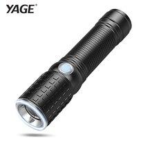 YAGE Portable Light Cree XML-T6 Lanterna Tactical flashlights Powerful LED Flashlight Touch 18650 Military Flashlight 7 Modes