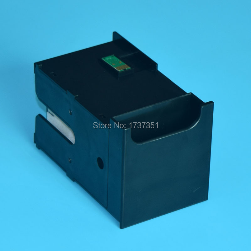 waste ink collector for Epson T6711 maintenance cartridge for Epson WorkForce Pro WF-3520 3540 3620 3640 7110 7610 7620 printer powder for epson workforce m 400 mfp for epson al m400 dtn for epson workforce al 400 mfp brand new universal powder