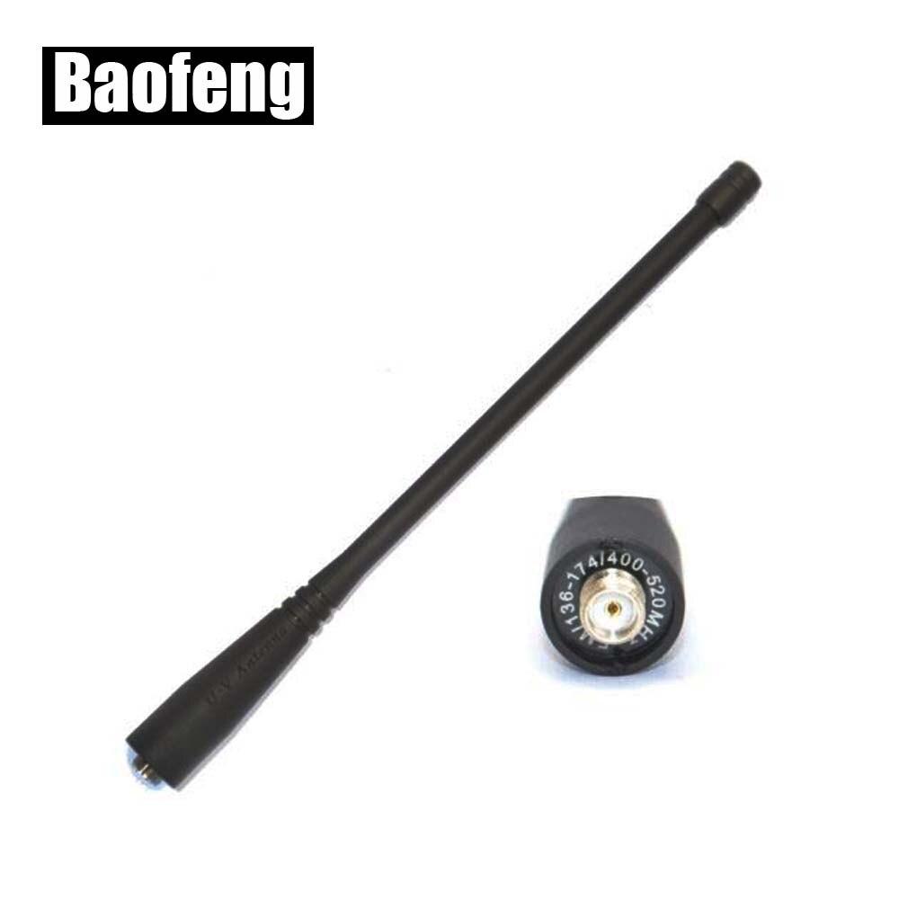 Original BAOFENG 136-174/400-520Mhz SMA-F Antenna For Baofeng UV-5R UV-5RA/B/C/D/E/A+/E+ UV-B5 UV-B6 Radios With Free Shipping