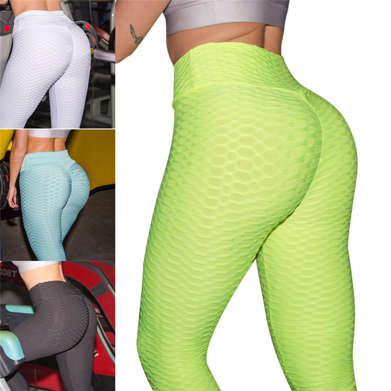 2019 New Women Anti-Cellulite Compression Leggings Slim Fit Butt Lift Elastic Pants For Fitness ALS88 Брюки