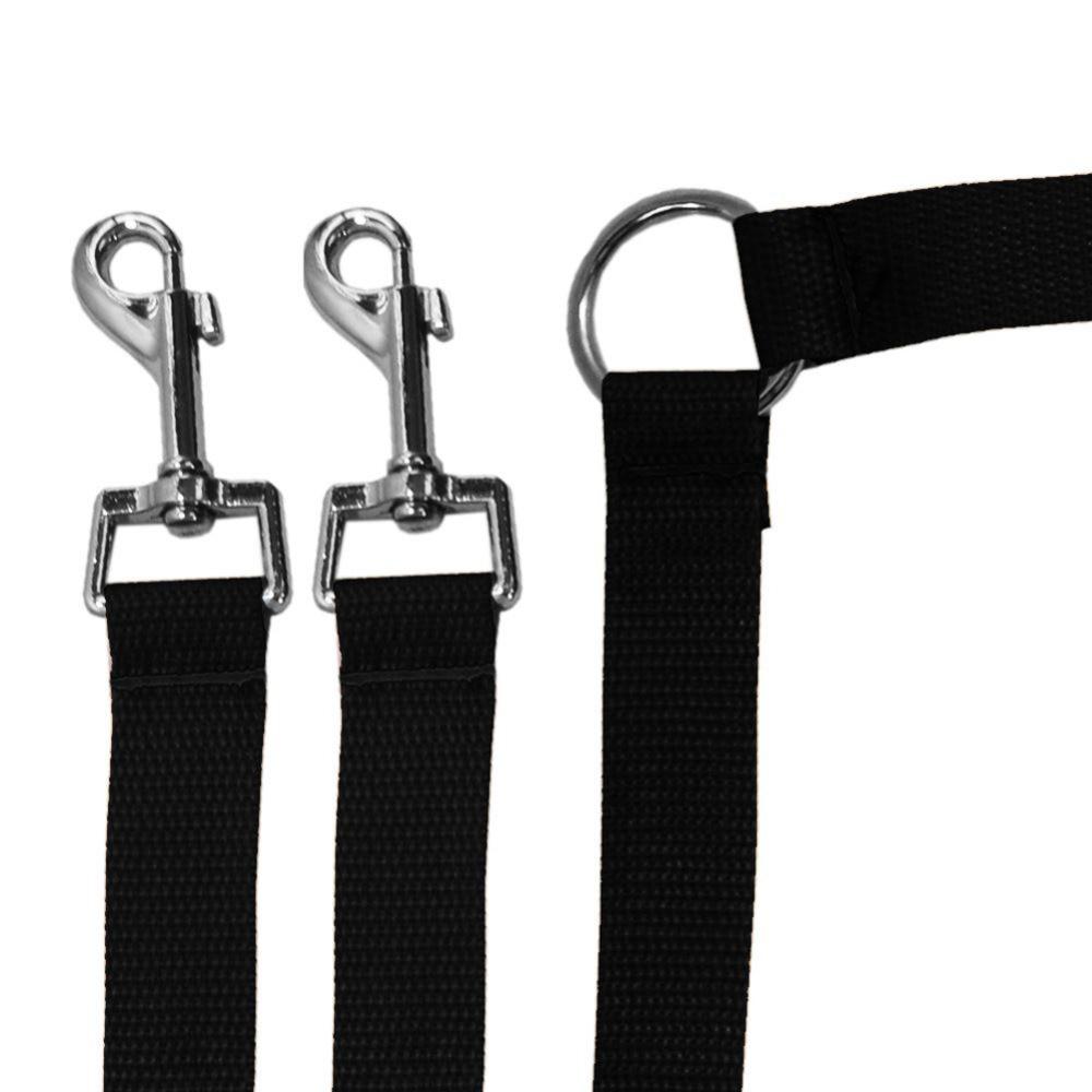 New Strong Nylon Double Dual Coupler Pet Dog Guinzaglio 2 Way Pets - Prodotti per animali domestici - Fotografia 3