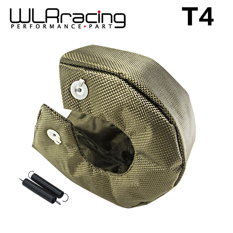 WLR - 100% FULL TITANIUM turbo heat shield blanket T4 turbo blanket fit :t4,gt40,gt42 ,gt55,t6,t66 turbo charger WLR1304-2T/GR