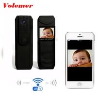 Volemer Mini Camera WiFi wireless HD 1296P Novatek 96650 infrared light DVR Body Police Pocket Camera Loop Recording P2P Camera