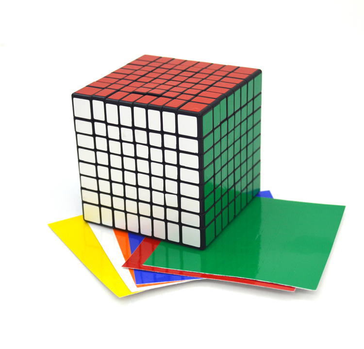 ФОТО Shengshou 8X 8X 8 Magic Cube Professor Puzzling 8*8 Cubes Fun Educational Toy Brain Treater Gift For Children Kids