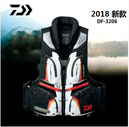 Drop shipping New arrive high density polyester shell fabric Fishing vest life jackets Detachable fishing clothes