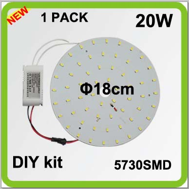 TOP quality DIY 5730SMD 2300lm 20W round LED ceiling light source disc led techo led circular tube=50w 2D tube surface mountedTOP quality DIY 5730SMD 2300lm 20W round LED ceiling light source disc led techo led circular tube=50w 2D tube surface mounted