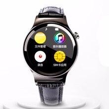 Nueva Llegada Elegante Reloj Smartwatch T3 Tarjeta SIM Soporte de Tarjeta SD Bluetooth WAP GPRS SMS MP3 MP4 USB Para iPhone Y Android