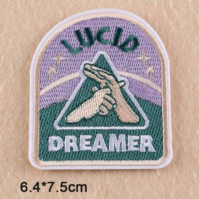 f02108ef515b Novelty Dream Iron On Embroidered Clothes Patch For Clothing Stickers  Garment Apparel Accessories