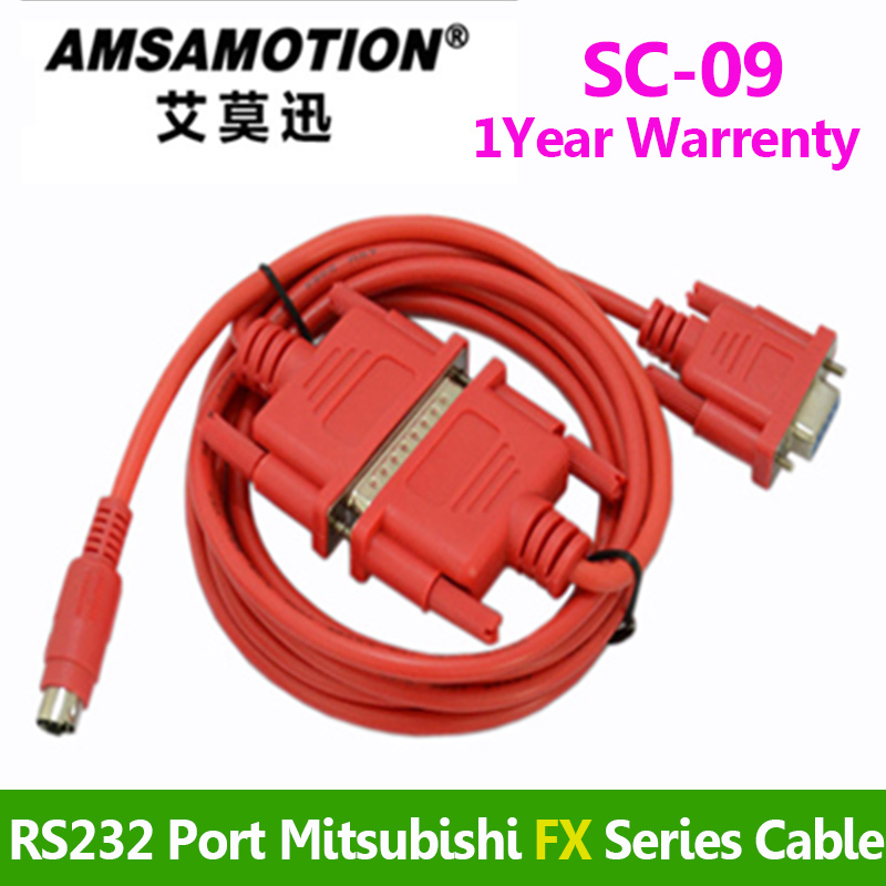 SC-09 PLC Programming Cable USB-SC09 Download Cable SC-09 FX A Serials PLC Cable For Mitsubishi FX0 FX0S FX1S FX0N FX1N FX2N A цена