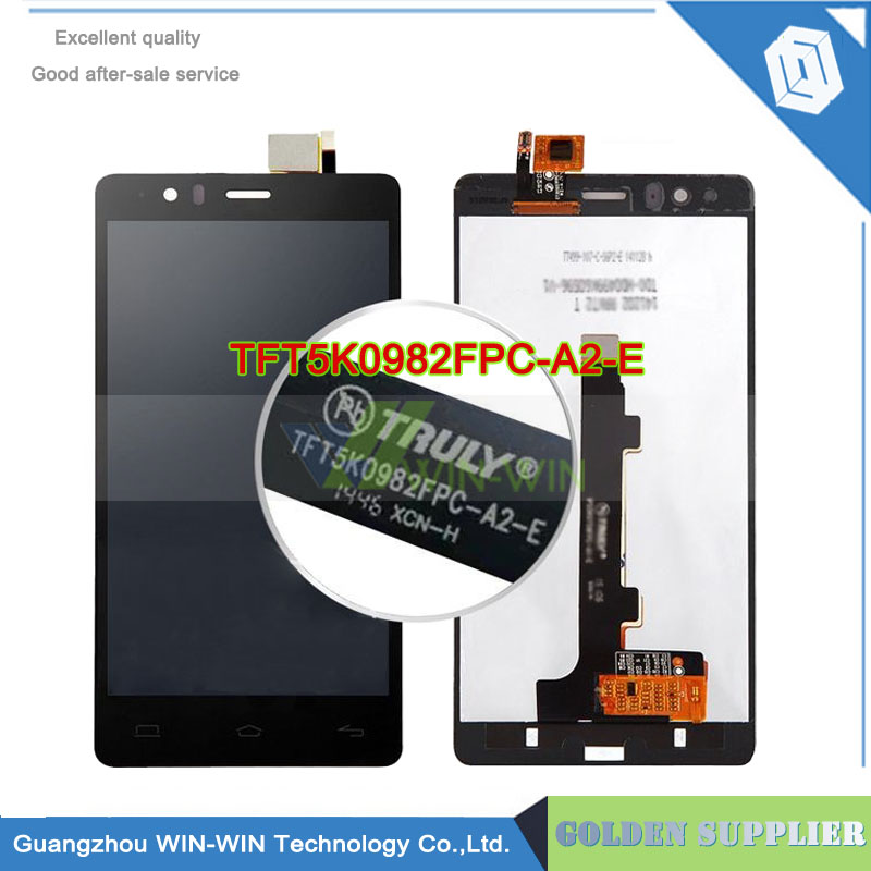 TFT5K0982FPC-A2-E Version FOR BQ Aquaris E5 LCD Display Touch Screen Digitizer Assembly + Tracking Code