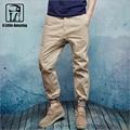 Alta qualidade homens calças harém calças de algodão suor corredores Hip Hop dance calças masculinas 100% Algodão verão calça casual mens