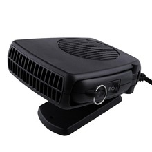 Portable Auto Car Vehicle Electric Heating Fan Heated Windshield Air Conditioning Defroster Demister 12V 200W Black Car Styling