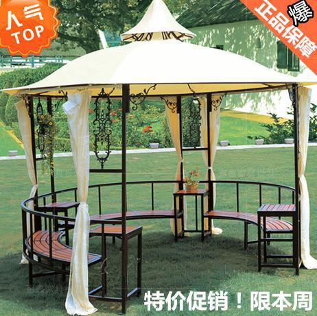 Fort White House National Mail Outdoor Furniture Wrought Iron Gazebo Garden Pavilion Patio Sun