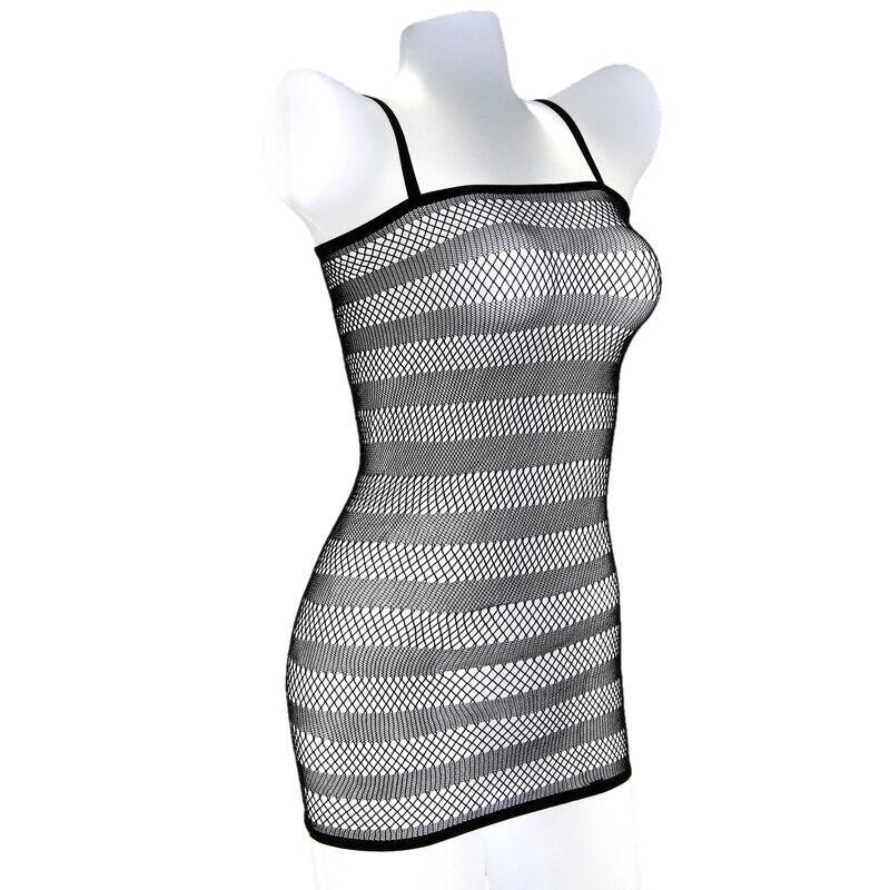 Lady Sexy Lingerie Fishnet Body Stocking Sleepwear Underwear Babydoll Mini Dress chemise ropa sexy mujer intima picardias E02006