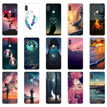 R silicone case For 5.99 inch Xiaomi Redmi Note 5 global pro Case Cover redmi note 5 Snapdragon 636 version note5 pro case image