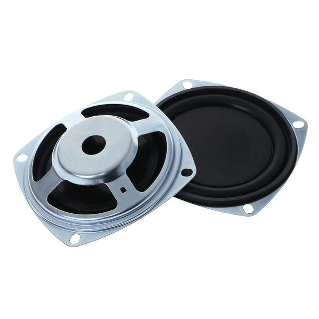 2 pièces haut parleur de basse 77.9mm vibrant Vibration Membrane passif Woofer radiateur diaphragme bricolage Kit de réparation