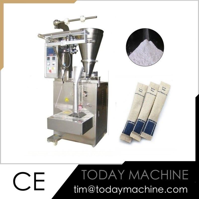 Automatic VFFS flour powder lait en poudre pouch packing machine