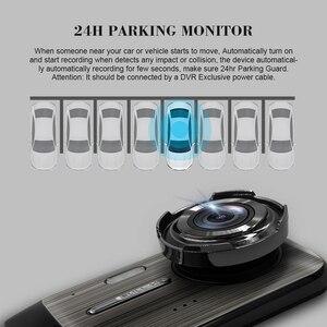 Image 2 - Автомобильный видеорегистратор 2 s 4,0 дюйма, HD цифровой видеорегистратор, Автомобильный регистратор с двойным объективом и камерой заднего вида, видеокамера