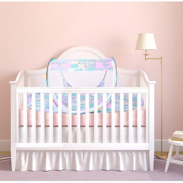 Matras Baby Bed.Draagbare Baby Bed Wieg Vouwen Klamboe Kussen Matras Zomer Baby