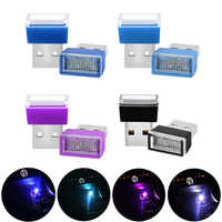 USB del coche luces LED de ambiente lámpara enchufe de la PC para Volvo Xc60 S60 s40 S80 V40 V60 v70 v50 850 c30 XC90 s90 v90 xc70 s70