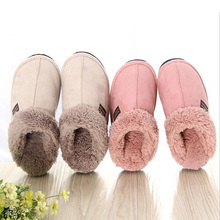 soft floor slipper winter fall thermal warm slipper platform home house slipper cotton padded walking garden shoes fur snowshoes