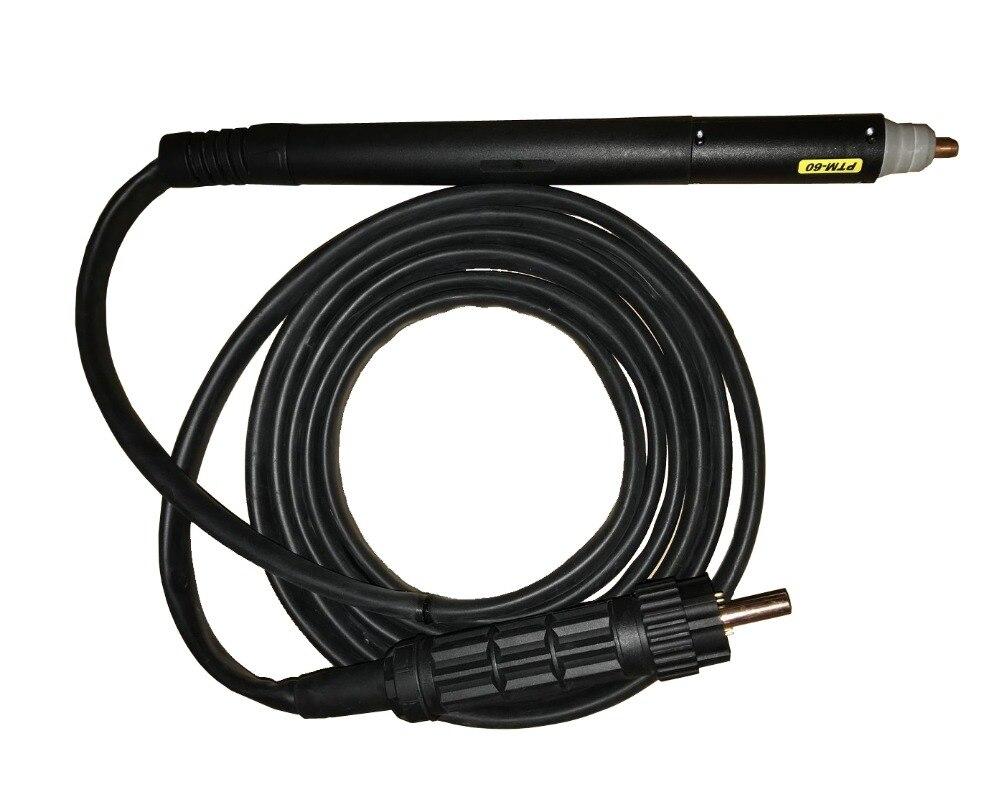 CNC Non HF Pilot Arc PTM60 torcia dritto 60 Amps taglio al plasma torcia per CUT55
