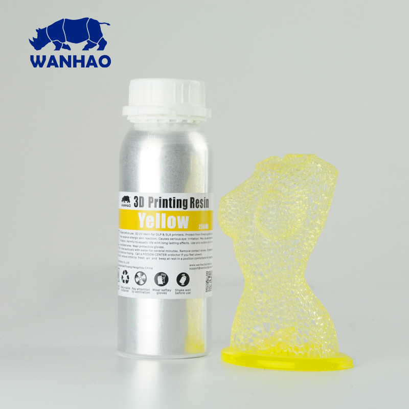 wanhao washable Resin For Wanhao DLPSLA D7 3D Printer Resin 405NM UV resin lowest price highest qulity wanhao washable Resin For Wanhao DLPSLA D7 3D Printer Resin 405NM UV resin lowest price highest qulity