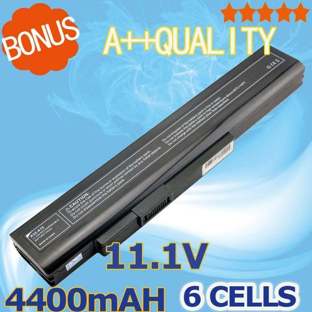 4400 mAh Bateria Do Portátil Para MSi A32-A15 A41-A15 A42-A15 A42-H36 CR640X CR640DX CR640MX A6400 CR640 CX640 CX640DX CX640X
