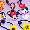 Cute Cartoon Silicone Elastic Hair Rubber Band Tie Ring Gum Accessories For Children Baby Girls Hair