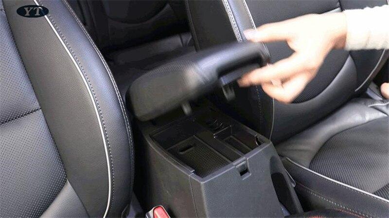 Авто внутренний молдинг отделка, ящик для хранения в подлокотнике автомобиля для hyundai ix25 creta-, автомобильные аксессуары