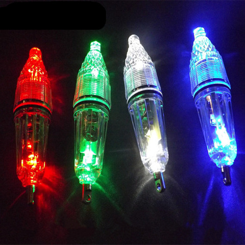 New Bright LED glittering fishing light underwater Attract Fish Outdoor Night Light Blue Red White Green Islamabad