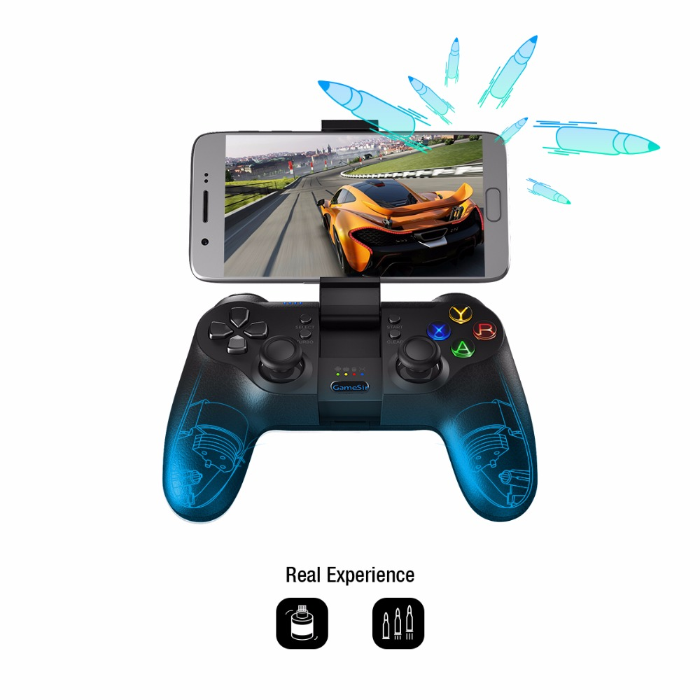 GameSir T1s Bluetooth Sans Fil Contrôleur de Jeu Gamepad pour Android/Windows/VR/TV Box/PS3 - 2