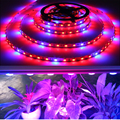 1M 5M Non Waterproof 5050 LED Grow Flexible Strip Tape Light 4 Red :1 Blue Aquarium Greenhouse Hydroponic LED Plant Growing Lamp