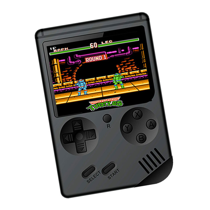 RS6A Retro Game Console Classic Handheld Game Players Portable 8-Bit 3.0 Inch Family TV Retro Video Consoles 129 Games for Child