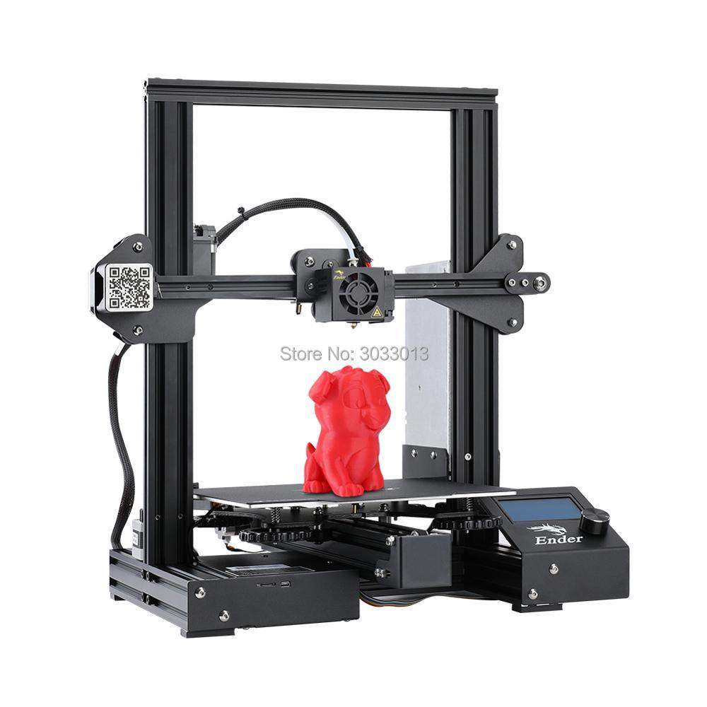 Ender 3 DIY Kit 3D printer Large Size I3 Ender 3 Ender 3 Pro printer 3D